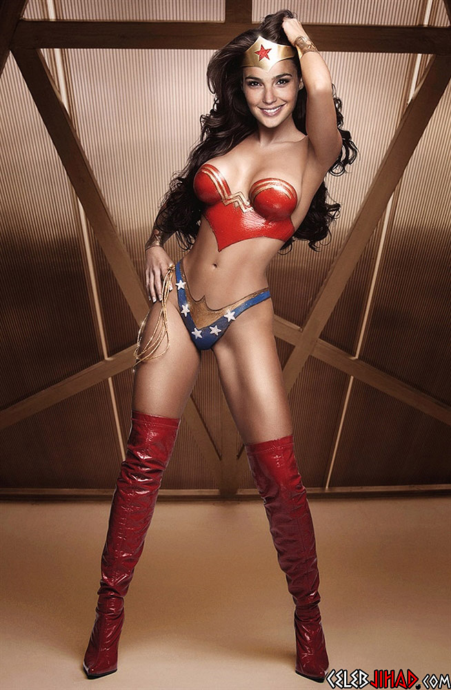 Nude pics of wonder woman