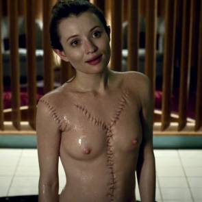 Emily Browning Nude Scene In American Gods Series