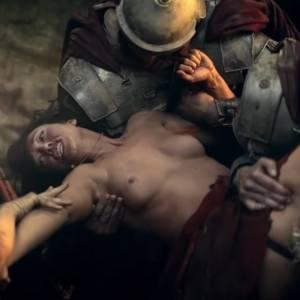 Erin Cummings Nude Scene In Spartacus Blood And Sand Series