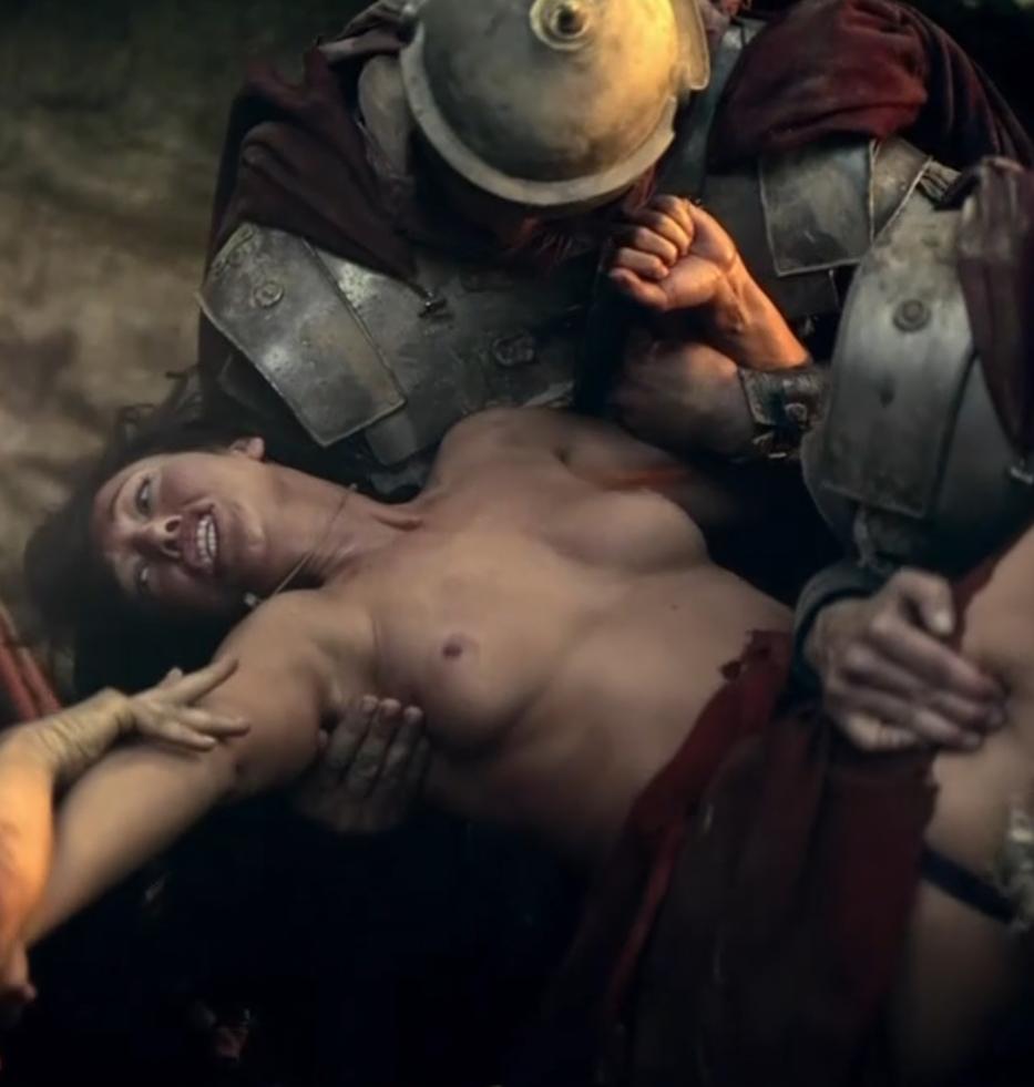 spartacus sex cummings scene Erin