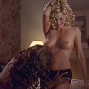 Jessica Collins And Nicki Micheaux Nude Sex Scene In The Ranch Series