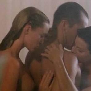 Joan Severance And May Karasun Nude Threesome Sex Scene In Lake Consequence Movie