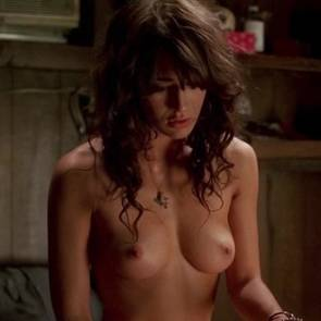 Lizzy Caplan Nude Boobs And Sex In True Blood Series