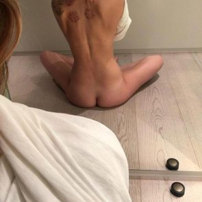 Dakota Johnson naked ass in mirror