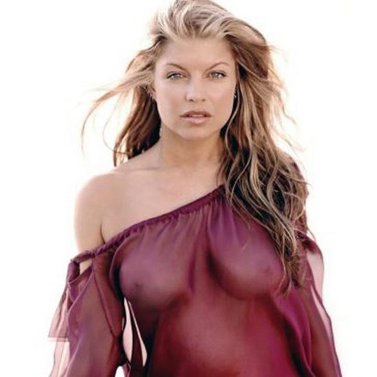 Fergie nude boobs