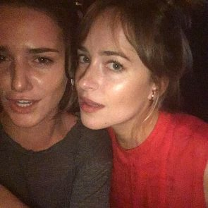Dakota Johnson private selfie
