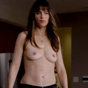 Amanda Peet Nude Boobs In Togetherness Series