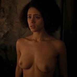 Nathalie Emmanuel Nude Sex Scene In Game of Thrones Series