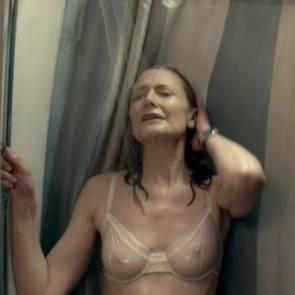 Patricia Clarkson Nude Scene In October Gale Movie