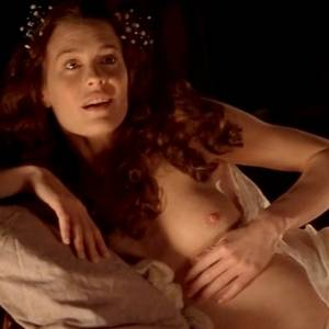 Robin Wright Nude Boobs In Moll Flanders Movie