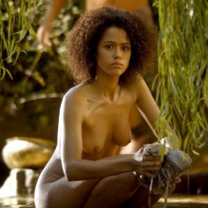 Nathalie Emmanuel Nude Scene In Game of Thrones Series