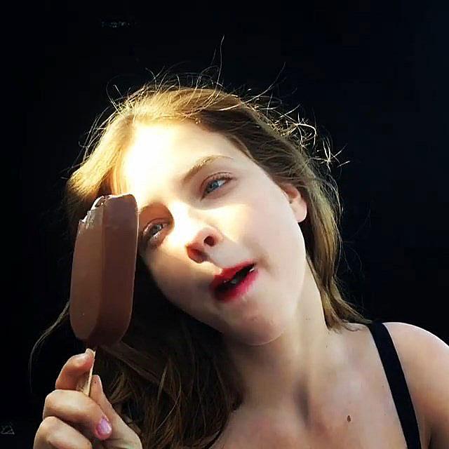 Something also ice cream woman nude commit error
