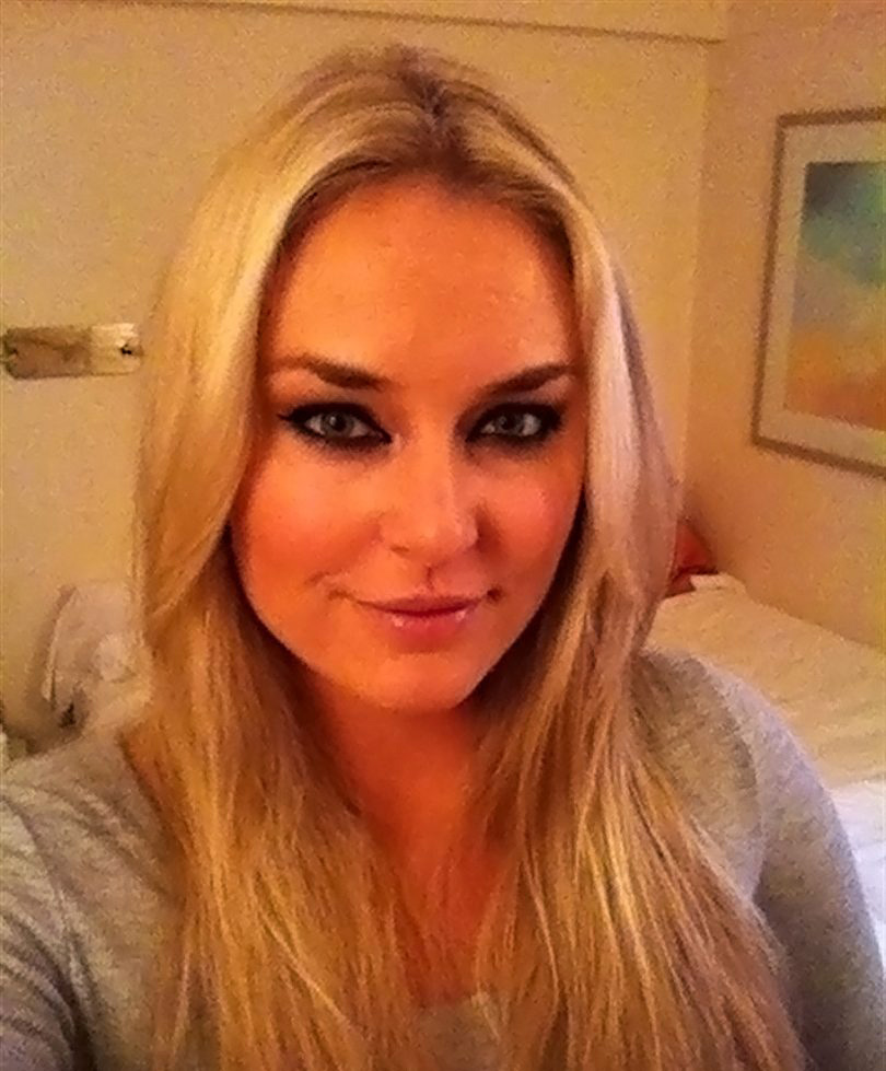 Lindsey vonn tiger woods leaked