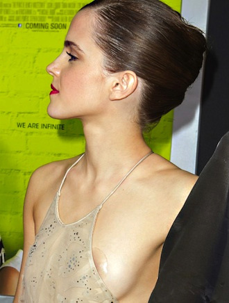 Emma Watson nipples with pasties