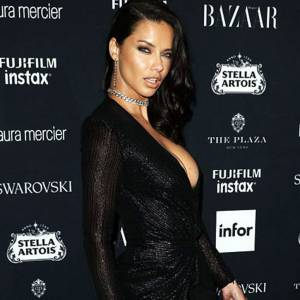 Adriana Lima Sexy At Harper's Bazaar Icons Party in NYC