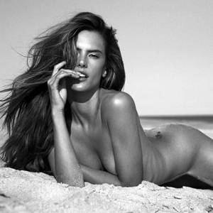 Alessandra Ambrosio Nude And Sexy By Stewart Shining