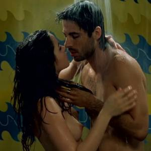 Ana de Armas Nude Boobs In Mentiras Y Gordas Movie