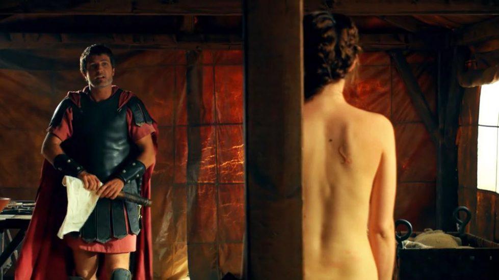 Ana de Armas nude back