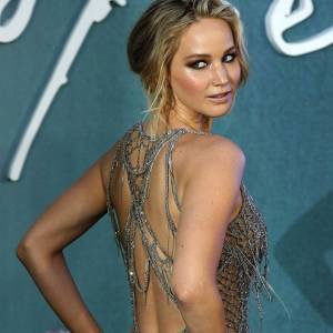 Jennifer Lawrence At UK Premiere Of 'Mother'