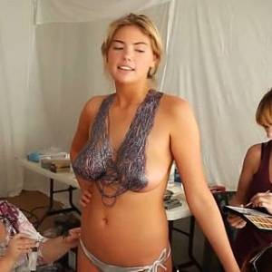 Kate Upton Body Paint And Topless Pics