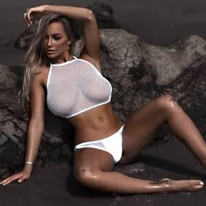 Lindsey Pelas Topless And Sexy Pics—Massive Tits Alert!