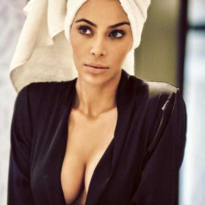 Kim Kardashian West Topless And Naked In Bathtub For Vogue Mexico (October 2017)