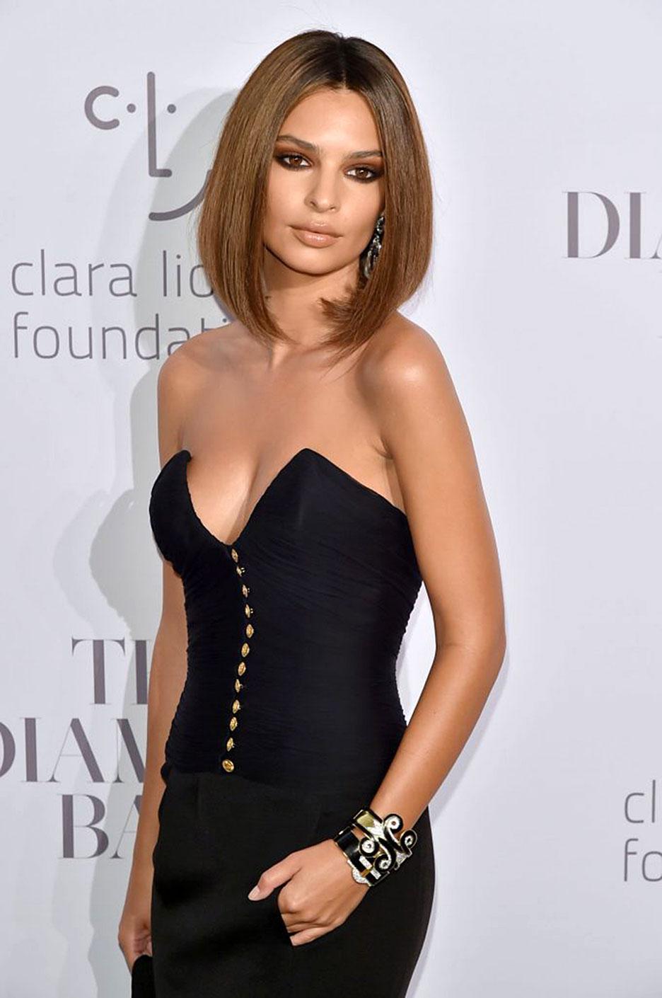 Emily ratajkowski adores topless plus deep cleavage pics - 2019 year
