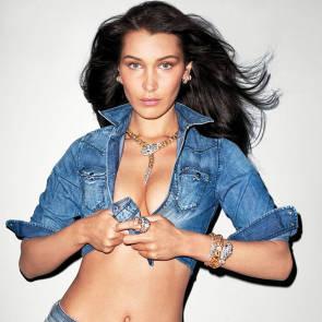 Bella Hadid Nude and Hot Photos & Porn Video [2021] 122