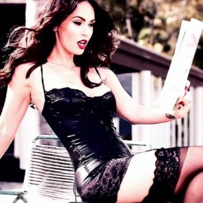 19-Megan-Fox-Sexy-Lingerie