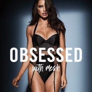 Adriana Lima Sexy For 'Obsessed' Lingerie 2017 Collection By Victoria's Secret!