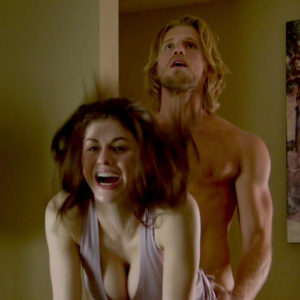 Alexandra Daddario Nude Sex Scene In The Layover