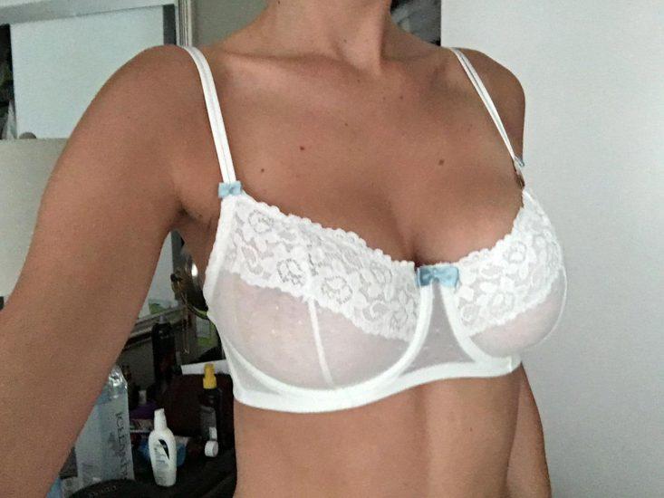 Elizabeth Turner white lingerie