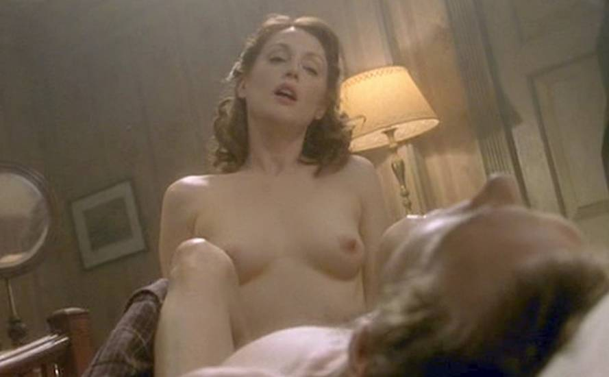 With you a naked image of julianne moore really. All