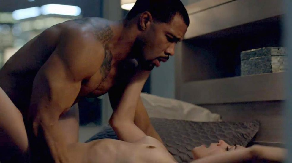 Lela Loren naked in sex scene