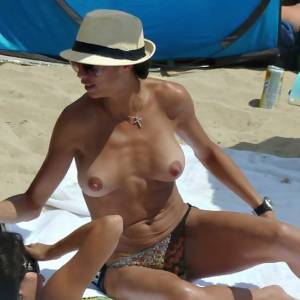 Lilly Becker Flashes Tits—Topless In Mallorca!