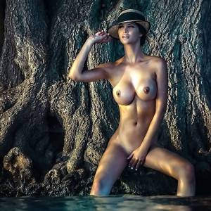 Micaela Schaefer Naked And Wet!