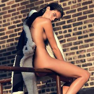Sara Sampaio Topless & Nude For Lui Magazine!