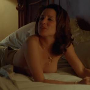 Alanna Ubach Nude Boobs In Hung Movie