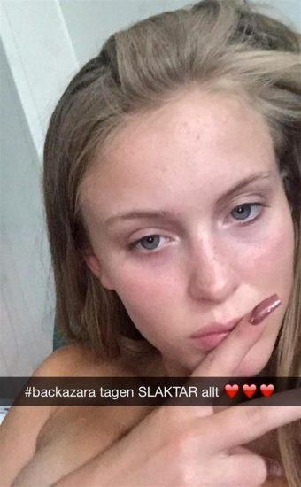 Zara larsson naked