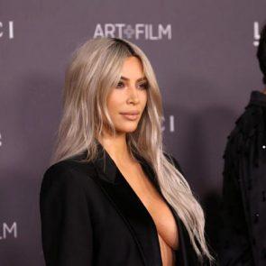 05-Kim-Kardashian-Braless-Boobs-Cleavage