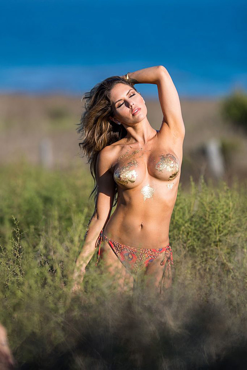Ana Delia De Iturrondo Nude brittney palmer topless for fitness gurls photoshoot   free