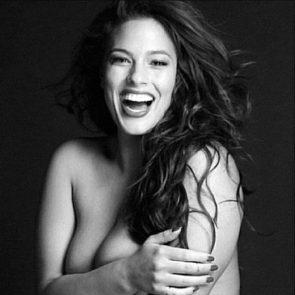 graham model size Ashley naked plus