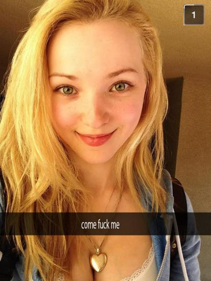 Dove Cameron Nude LEAKED Snapchat Pics & Sex Tape 99