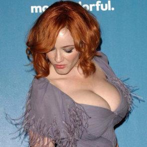 11-Christina-Hendricks-Nude-Leaked-Cleavage