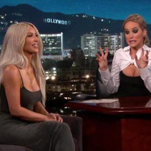 14-Jennifer-Lawrence-Kim-Kardashian-Kimmel-Live-Sexy