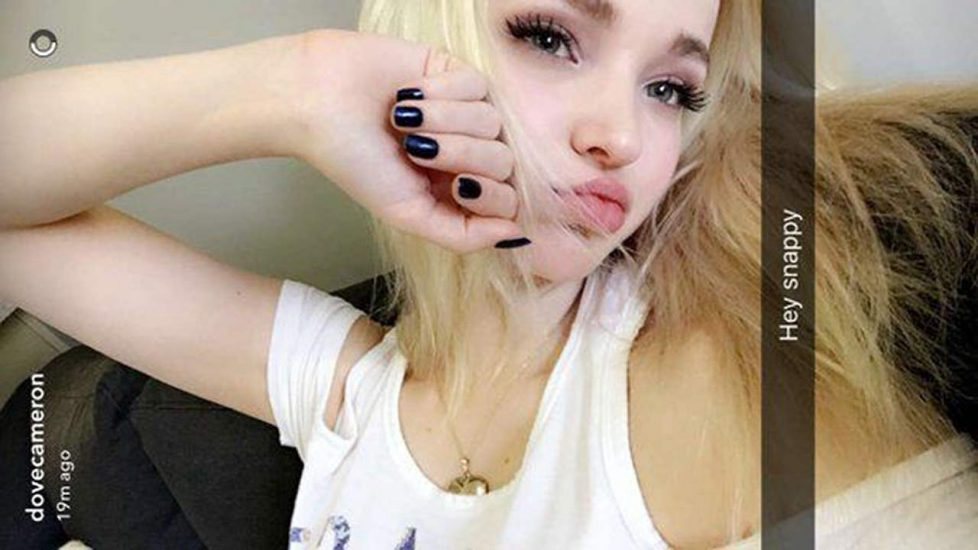 Dove Cameron Nude LEAKED Snapchat Pics & Sex Tape 114