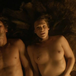 Erin Cummings Hard Sex Scene In Spartacus Blood And Sand Series