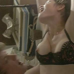 Gemma Arterton Erect Nipples In Gemma Bovery Movie