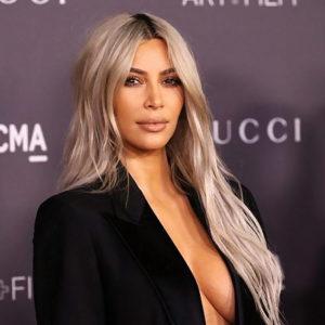Kim Kardashian Wears Same Black Jacket Two Times In A Row & Flashes Her Tits !