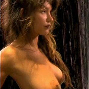 Paz de la Huerta Nude Boobs And Bush In X Femmes Series